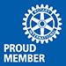 rotary proud member logo